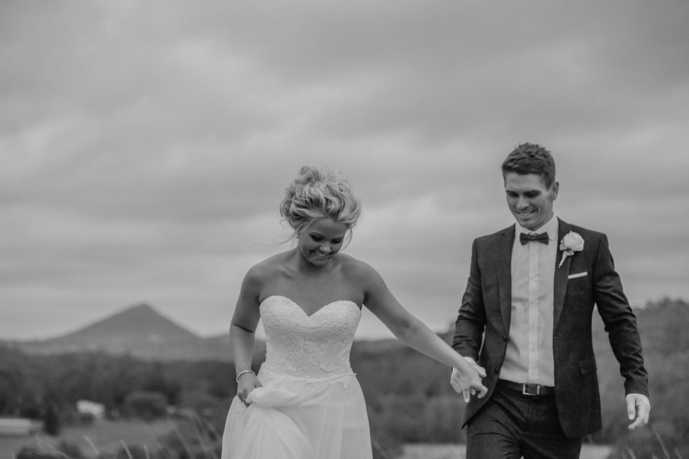 Ash & Todd's Country Wedding
