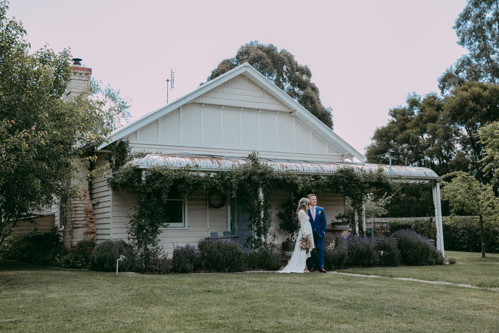 Country Victoria Wedding of Colleen & Rob