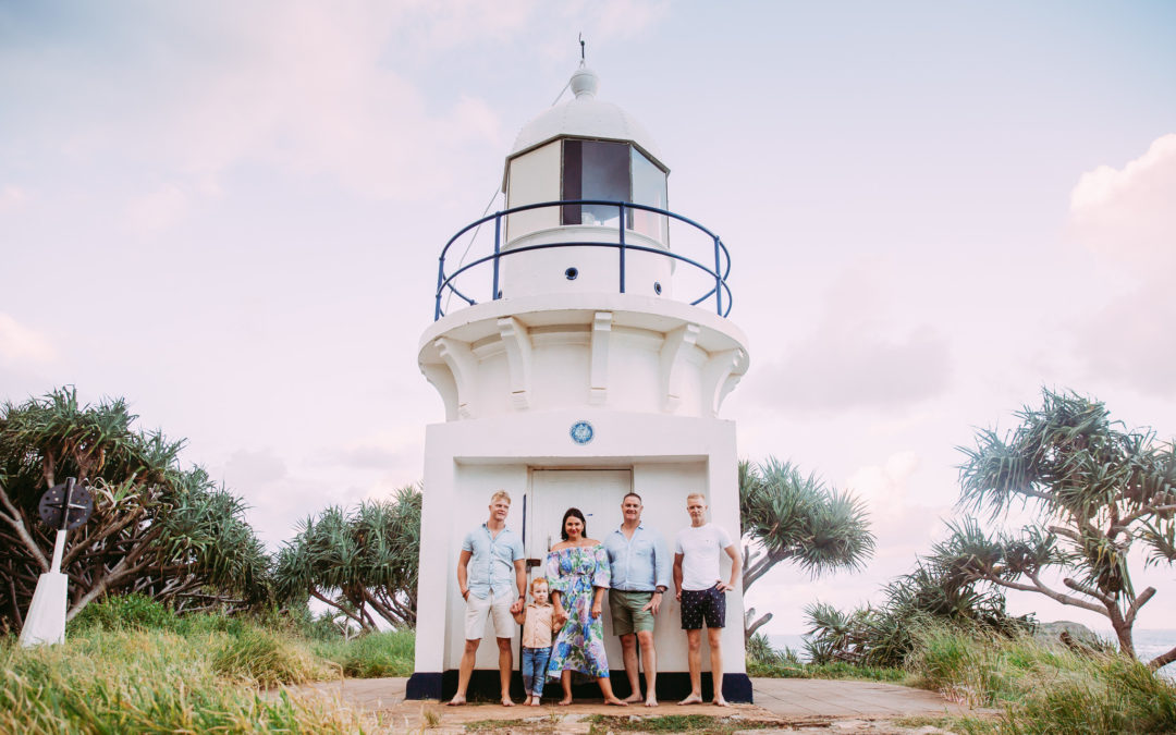 Brisbane Family Photography at Fingal Heads